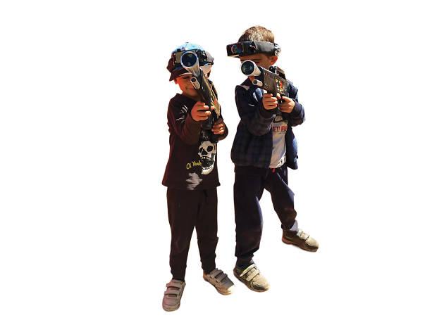 Laser Taggers, em Castro Marim