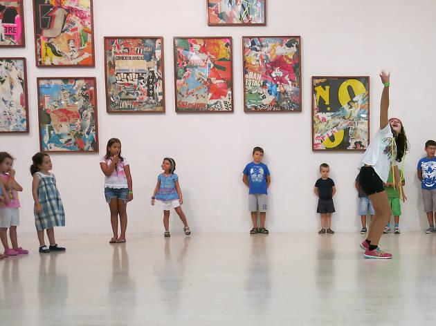 Oficina Uopia no Centro de Arte Moderna, Fundação Calouste Gulbenkian