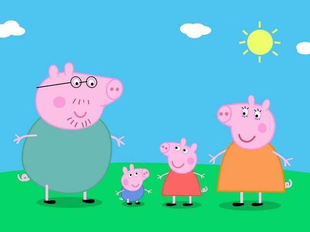 Peppa Pig Fall Reading Circle