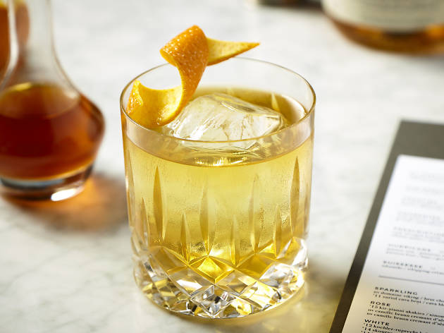 Old Fashioned at 1952 1/2 Liquorette
