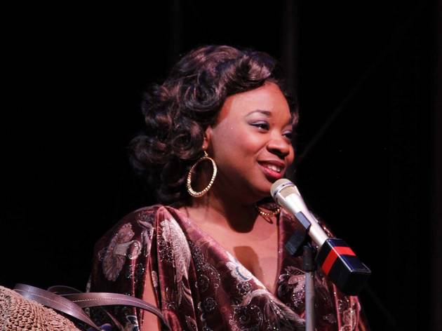 Donica Lynn in Dreamgirls at Porchlight Music Theatre