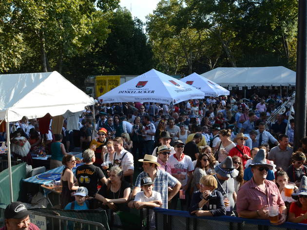 Oktoberfest in Central Park