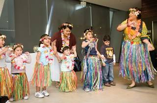 Romp and Stomp kids hawaiian dance