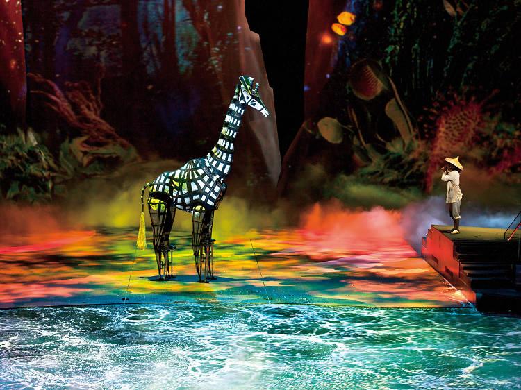 水舞間:大型水中表演