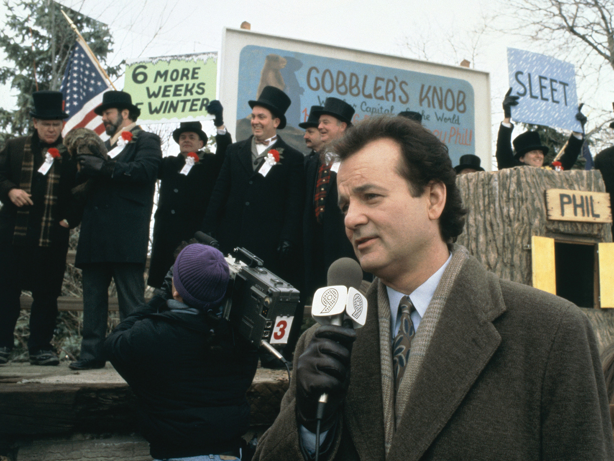 Groundhog Day starring Bill Murray (1983)