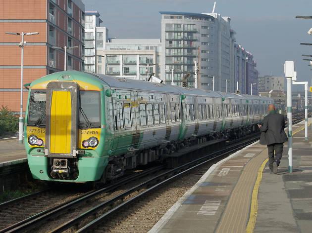 Southern railway train