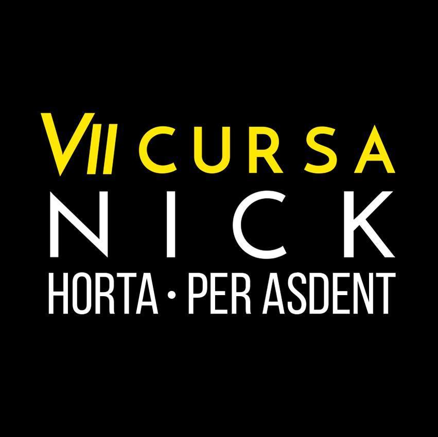 Cursa Nick Horta per l'Asdent