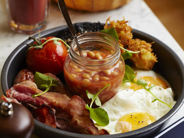 London's best full english breakfasts, fry ups, parlour kensal