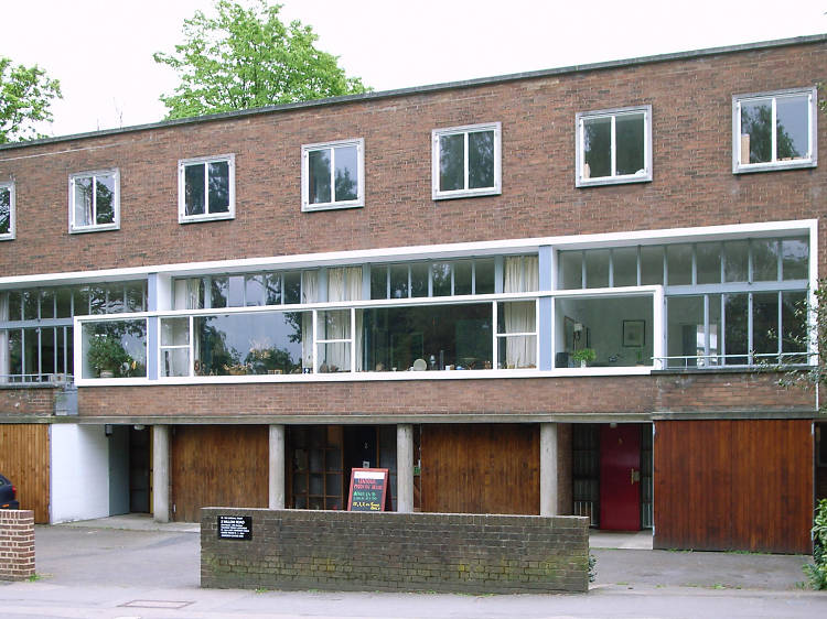 Erno Goldfinger's house at 2 Willow Road