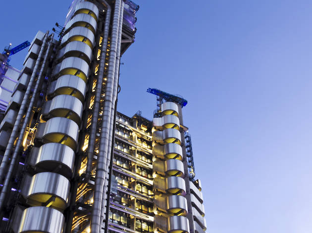 Best buildings in London: Lloyds Building
