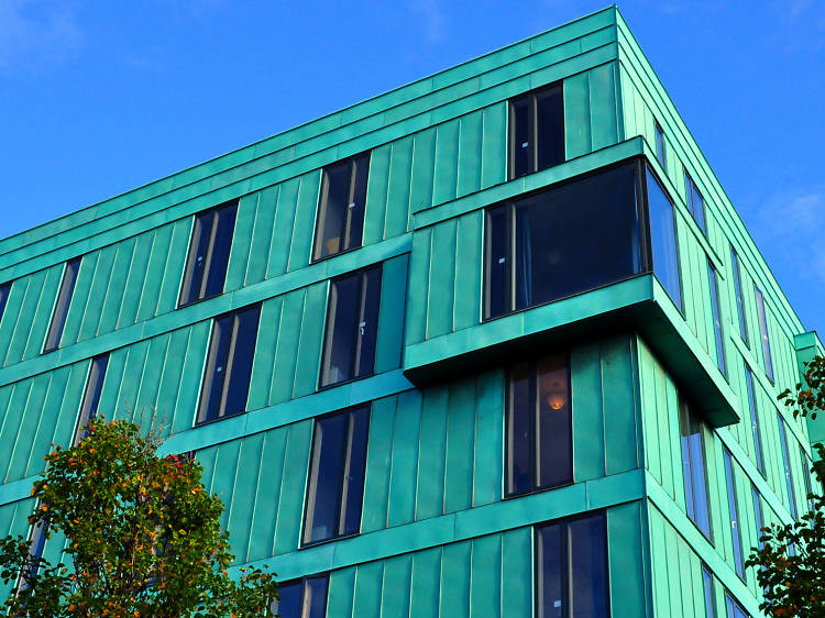 Turquoise Campus at Queen Mary University