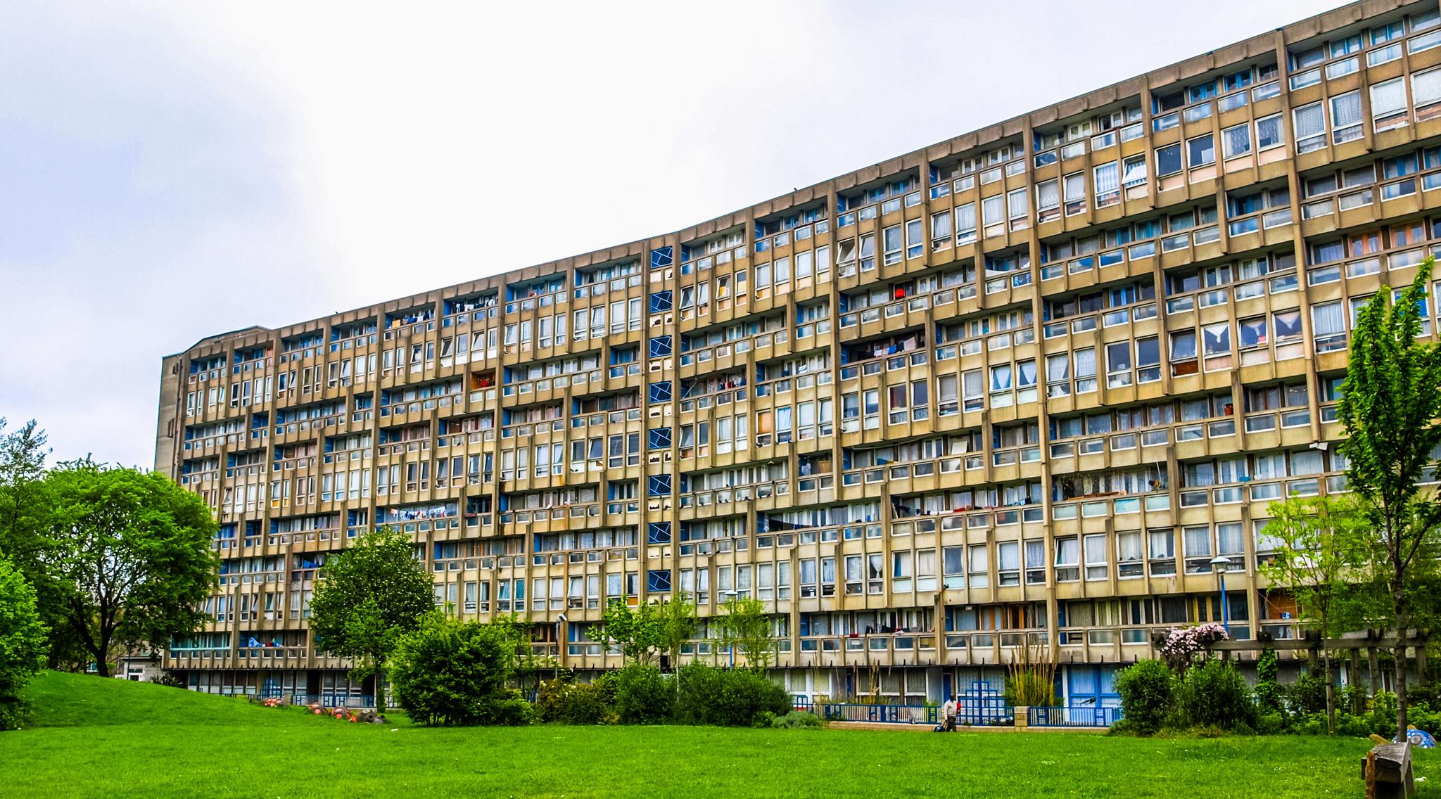 Best buildings in London: Robin Hood Gardens