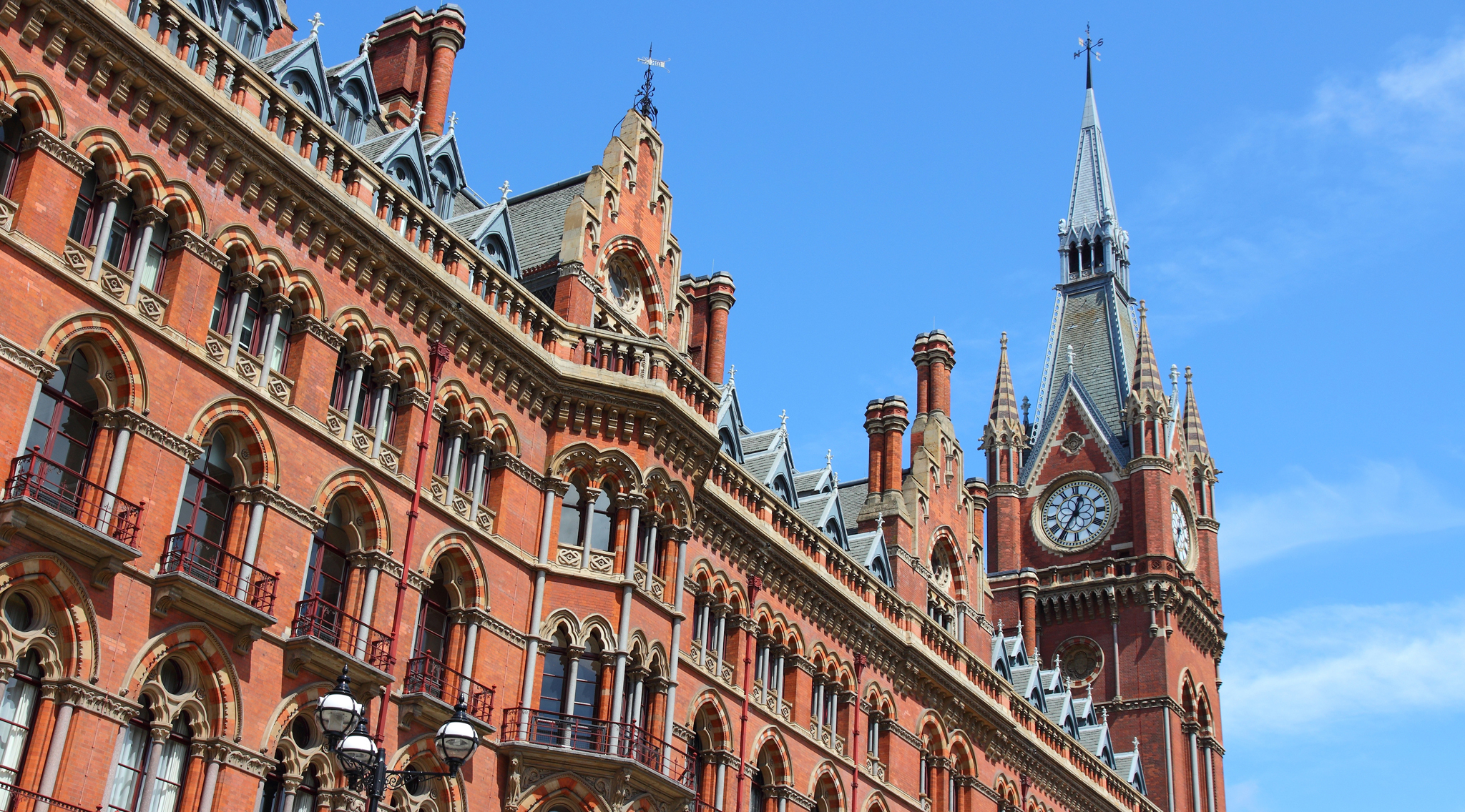 Best buildings in London: St Pancras Station