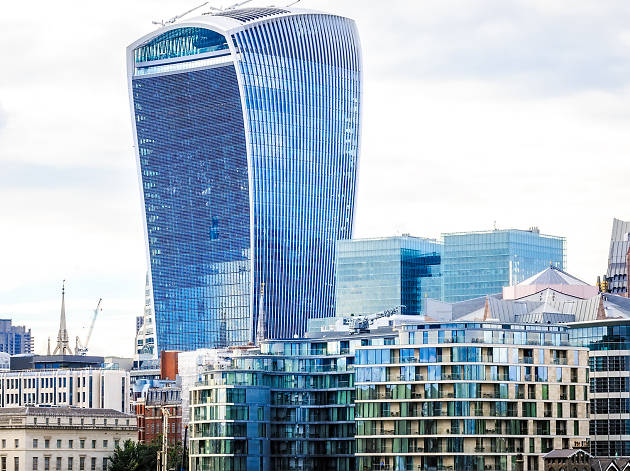 Best buildings in London: Walkie Talkie