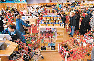 Why does everyone turn into a colossal a-hole the second they walk into Trader Joe's?