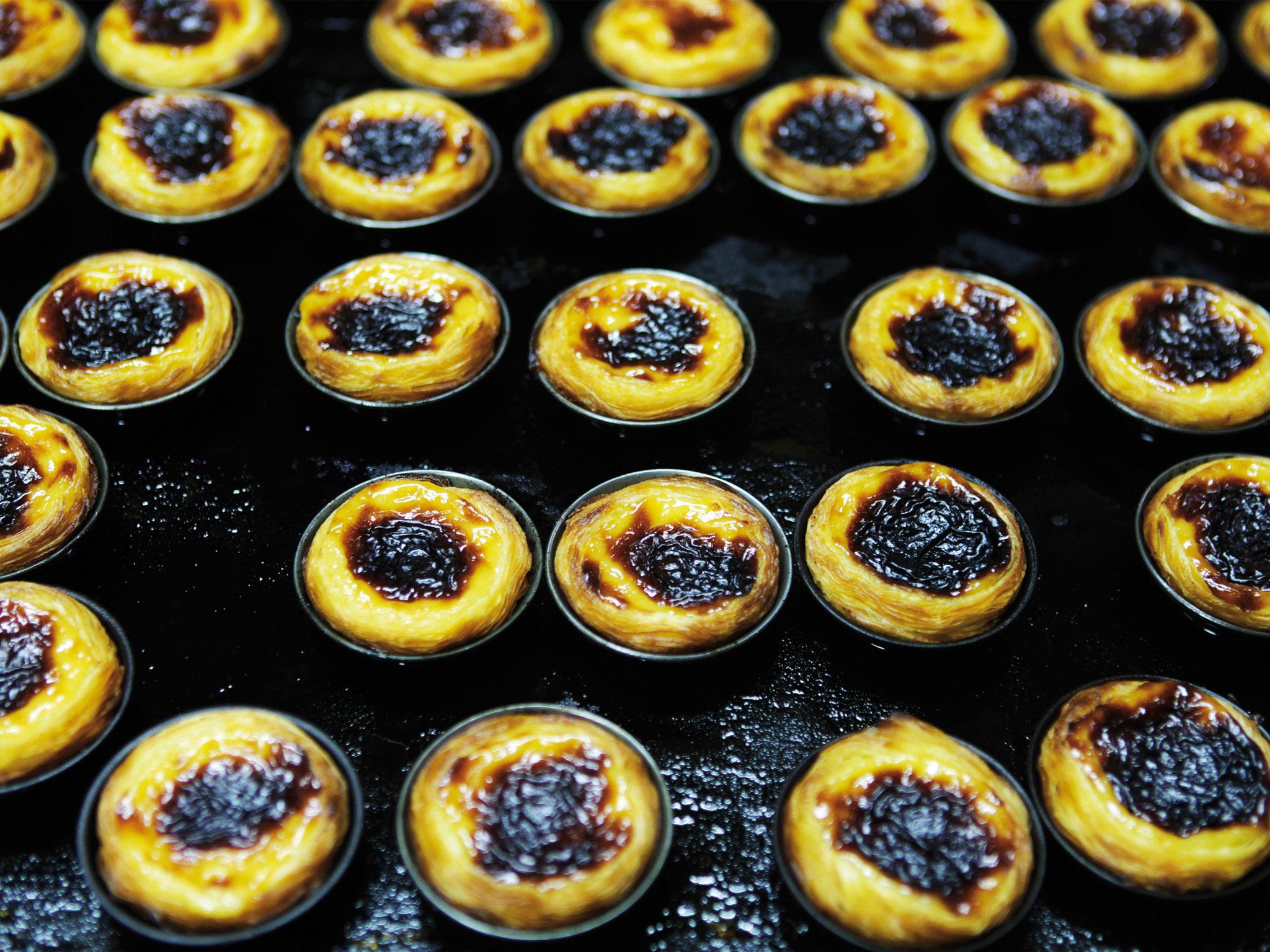 Pastéis de nata da Pastelaria Fim de Século