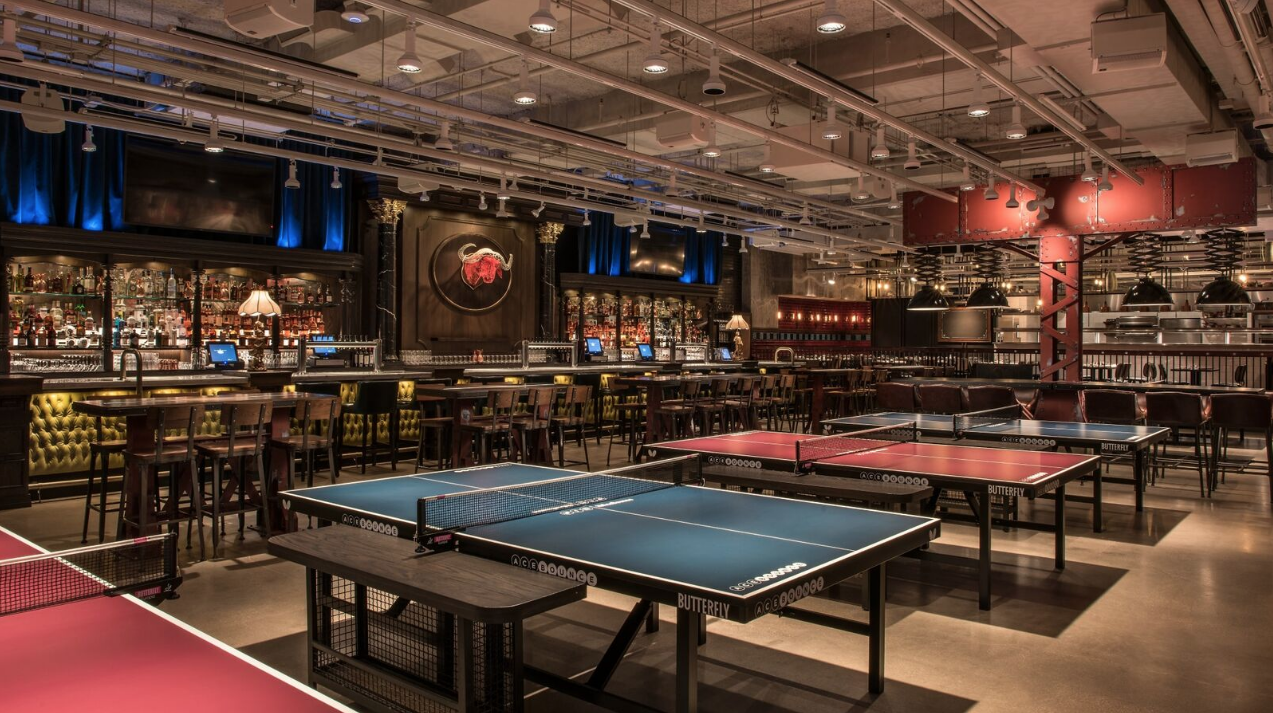 Have a pingpong party at AceBounce