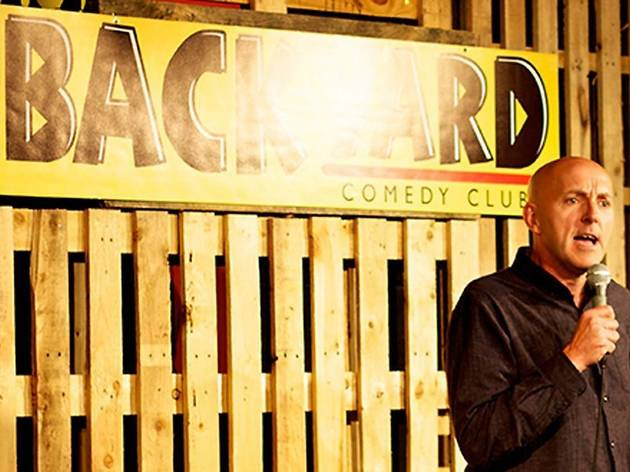 Backyard Comedy Club - Saturday Night