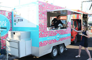 Food truck at Welcome to Thornbury