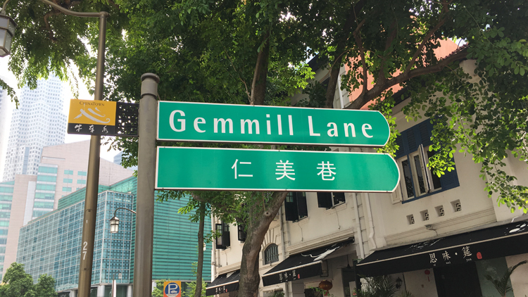 Guide to Gemmill Lane