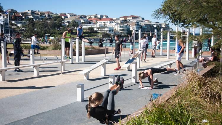 Bondi Beach Outdoor Gym (Photograph: Gilbert Walden)