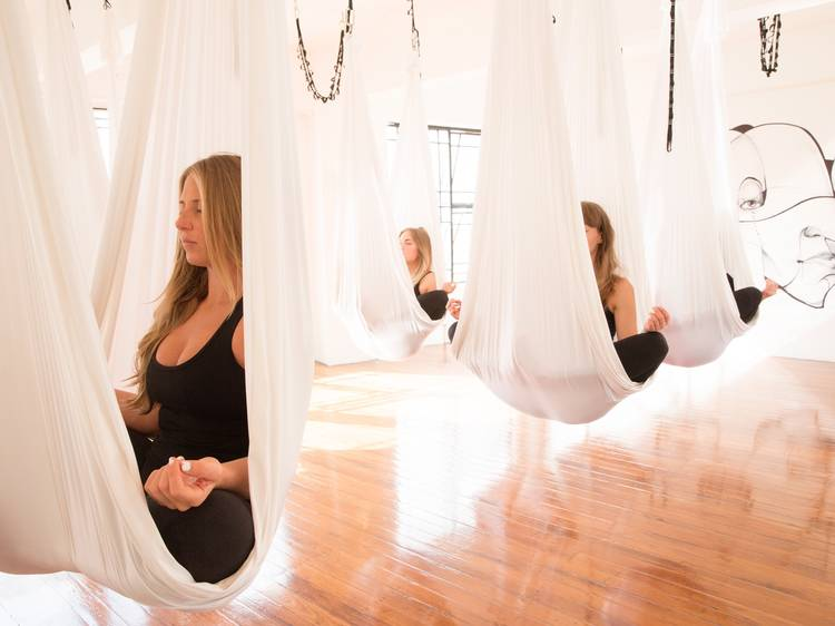 Hang upside down