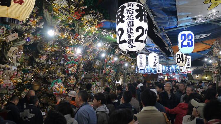 Hanazono Shrine Tori no Ichi