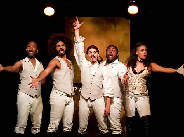 Theater review: Spamilton sparks a satiric uprising against Hamilton