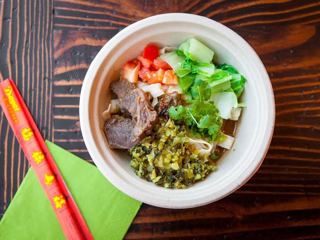 Beef Ban Mian at Lao Tao