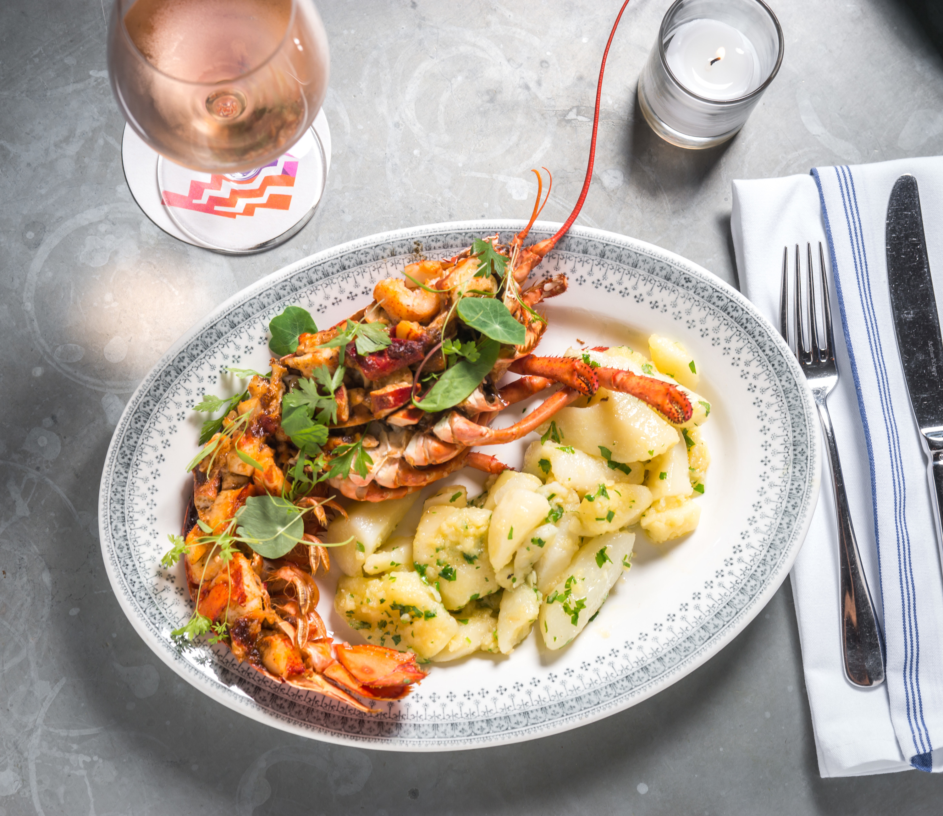 <p>Lobster at Sauvage</p>