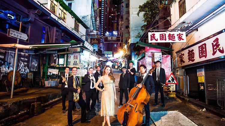 Jolie Chan Great Gatsby Band