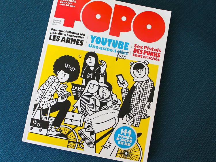 Un abonnement au magazine TOPO