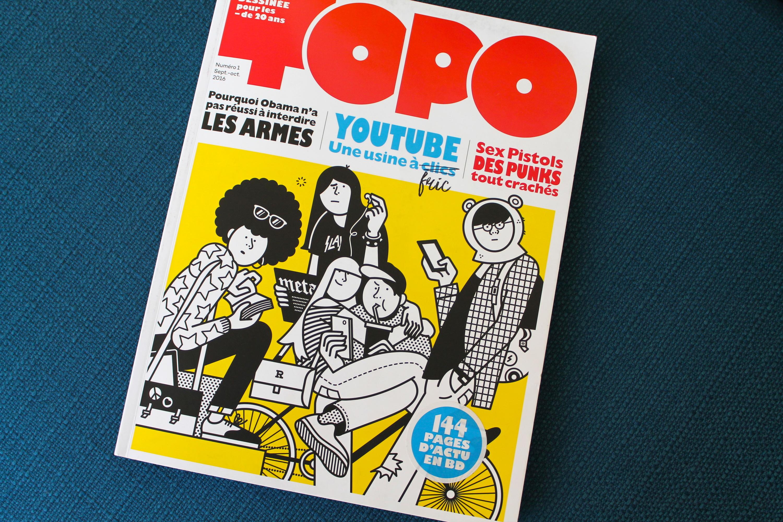 TOPO, le magazine papier pour ados qui va faire un carton
