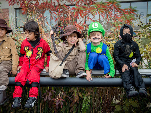 Halloween for kids in NYC