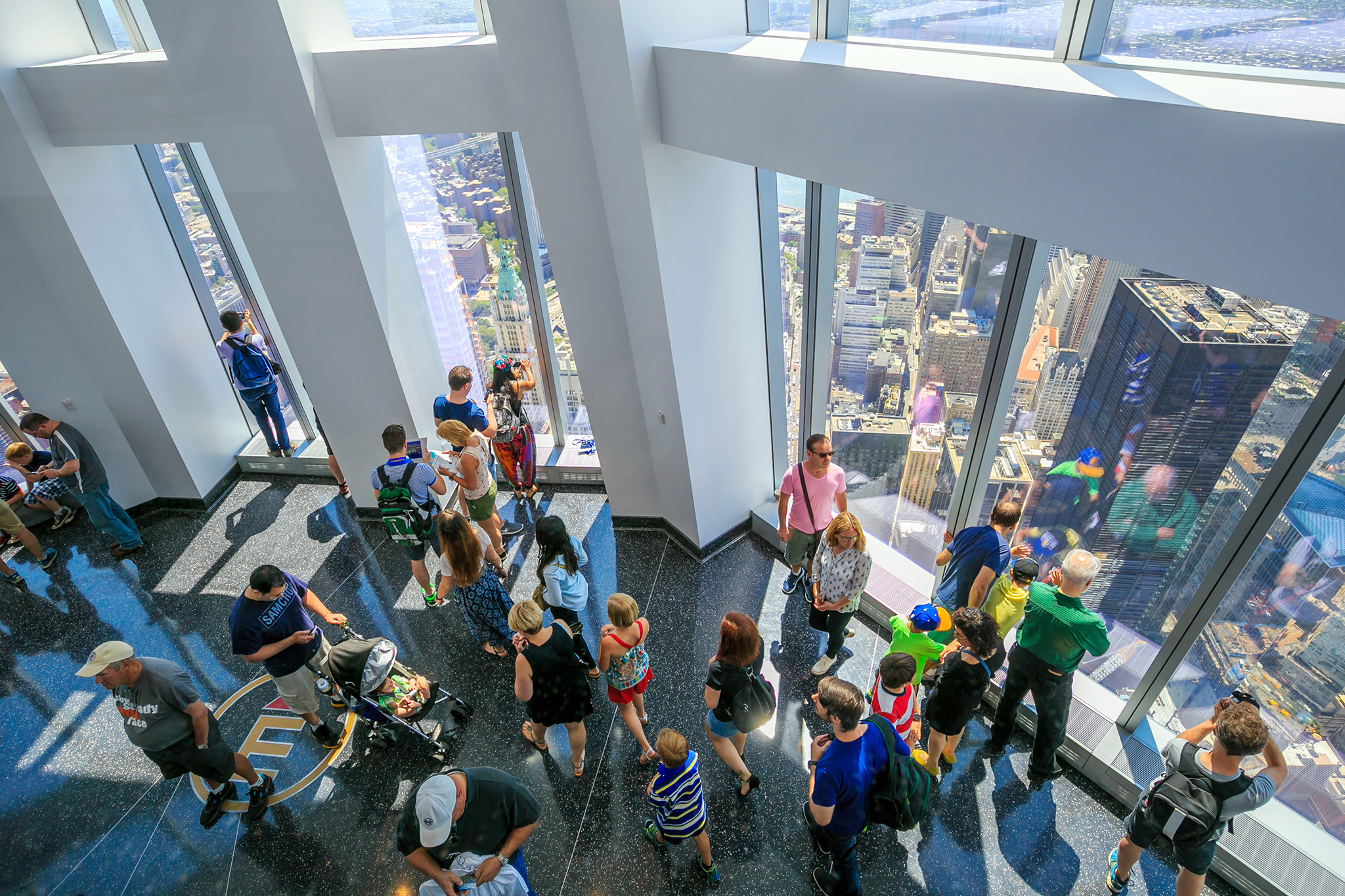 May 2015, One World Observatory opens to the public.