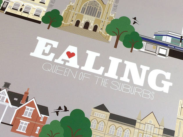 A whistle-stop tour of Charlotte Berridge's Ealing illustrations