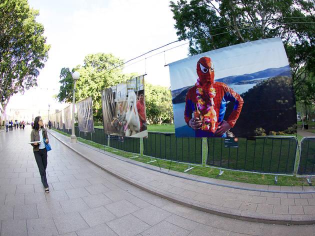 Outdoor art in Sydney