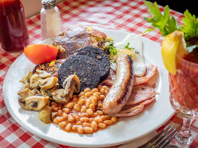 Eat a full English breakfast