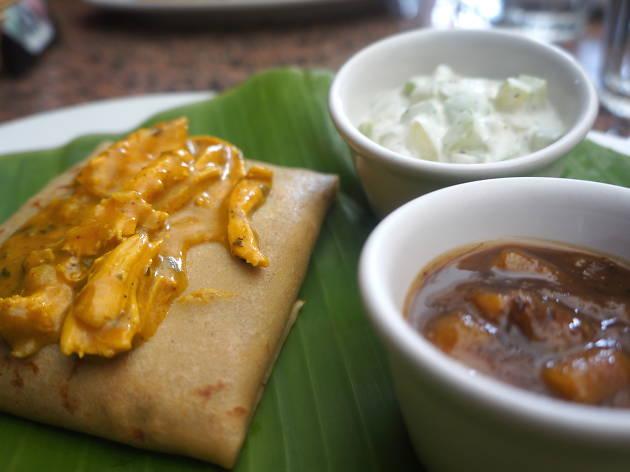 Crepa de curry