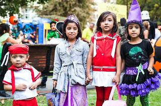 Annual Halloween Party for Downtown LA Kids