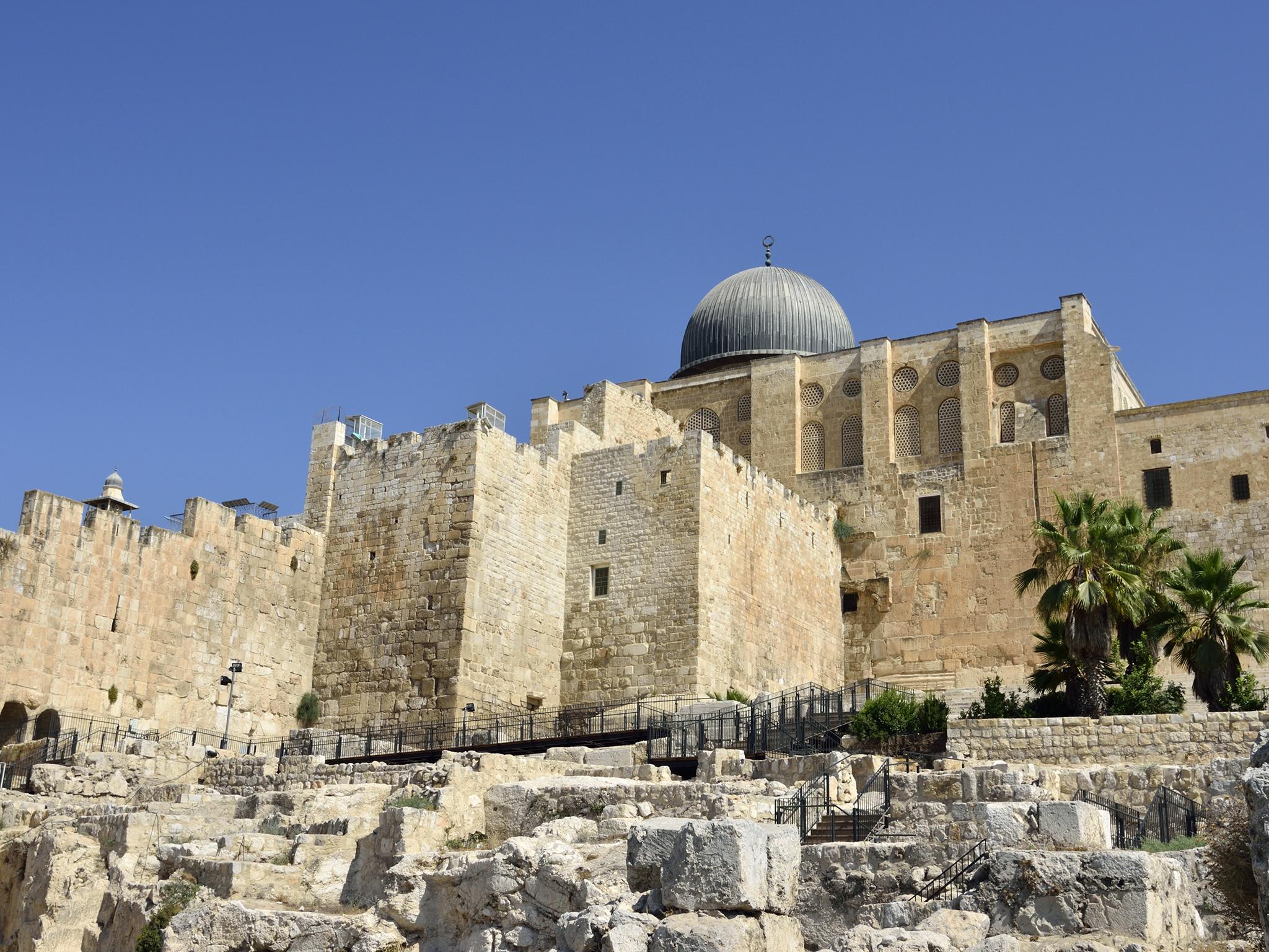 Le Parc Archéologique de Jérusalem - Centre Davidson