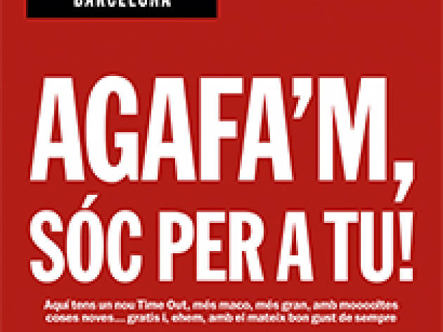 Donde puedes encontrar de la revista Time Out Barcelona