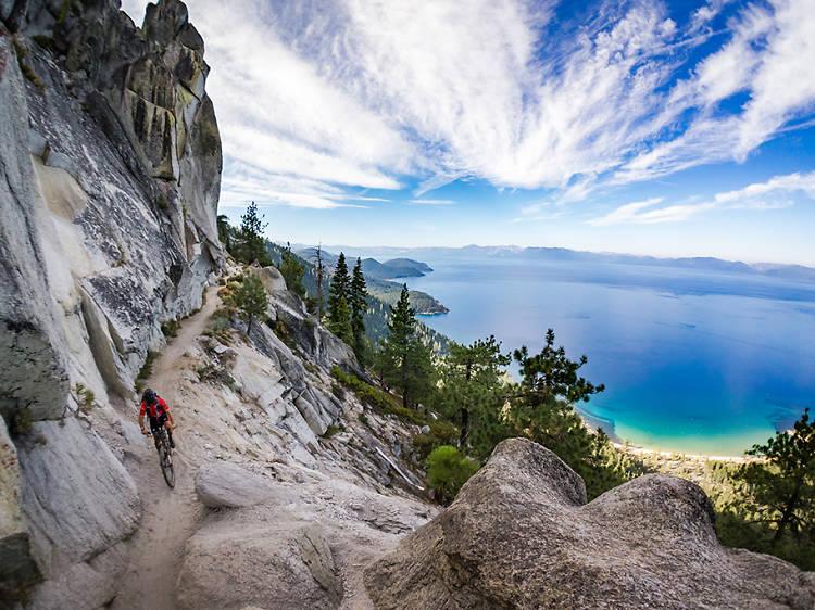 Nevada: Bike the Flume Trail in Lake Tahoe