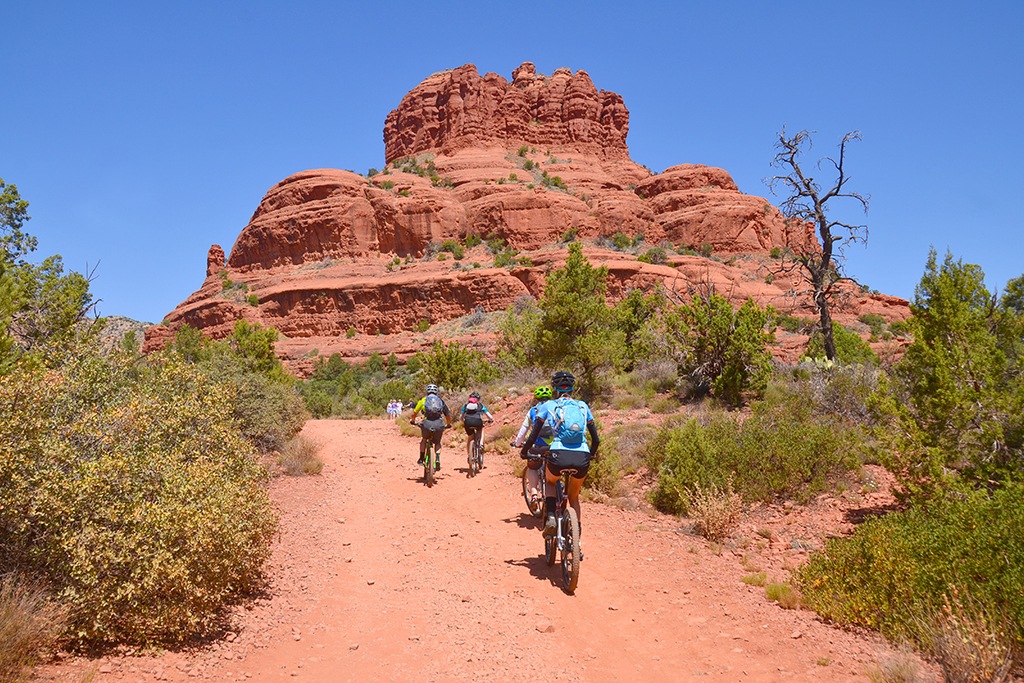 Biking Sedona