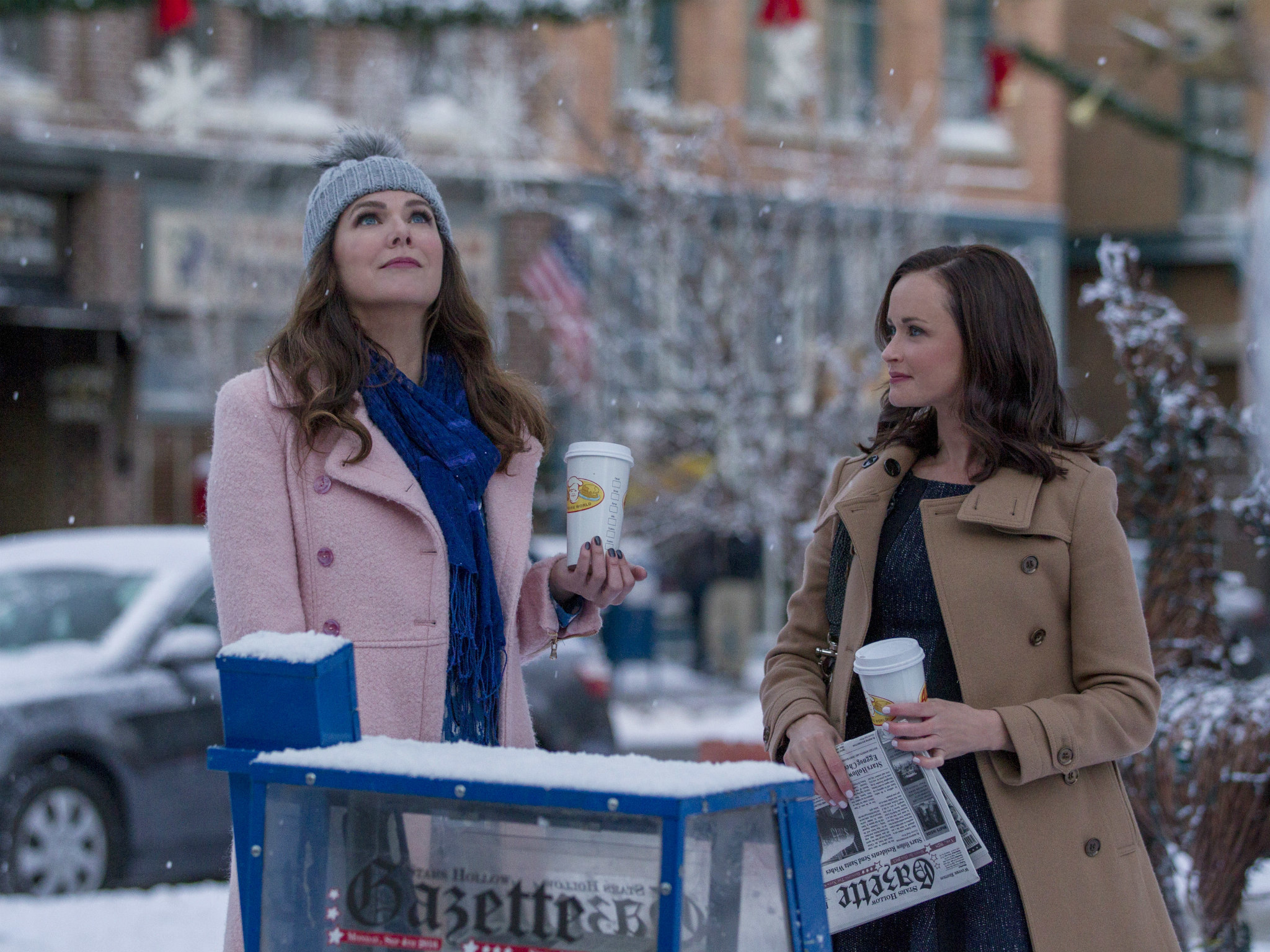Gilmore Girls Netflix reboot