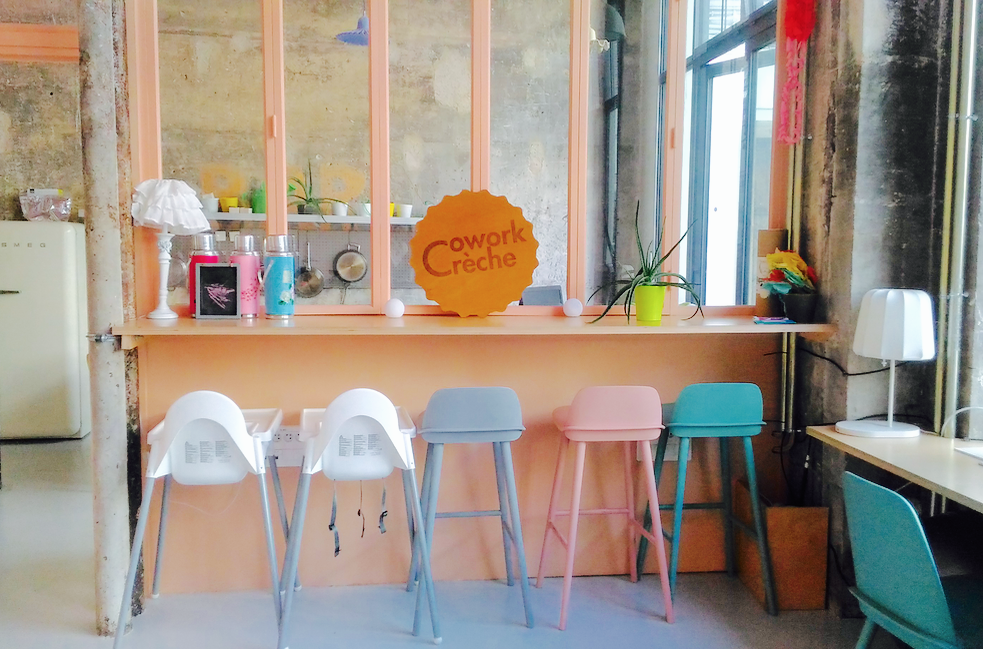 Kids friendly : CoworkCrèche