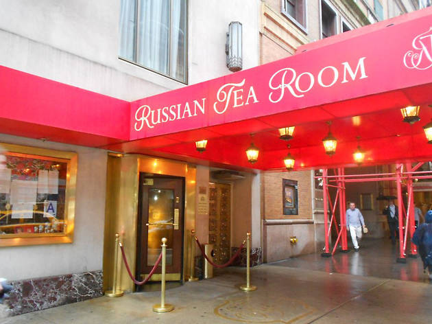 The Russian Tea Room Restaurants In Midtown West New York
