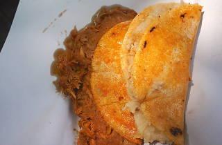 Tacos de canasta Calzada del Hueso