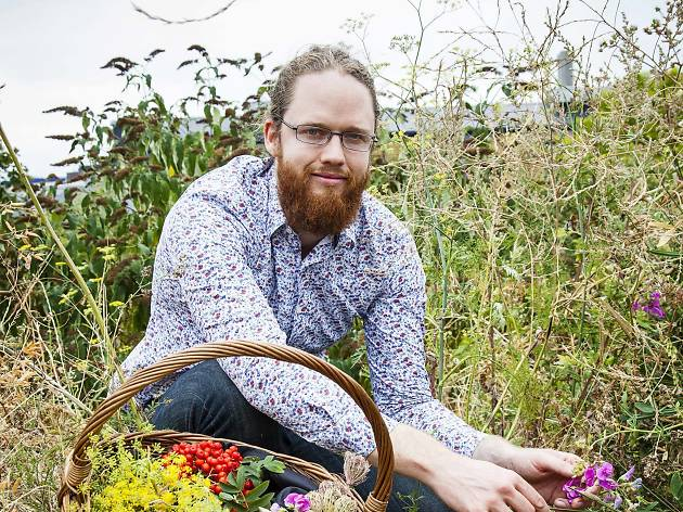 Jason Irving, foraging instructor