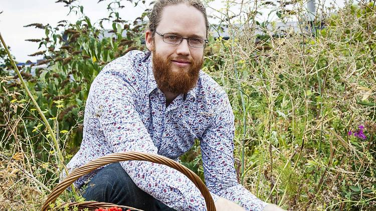 Jason Irving, foraging instructor